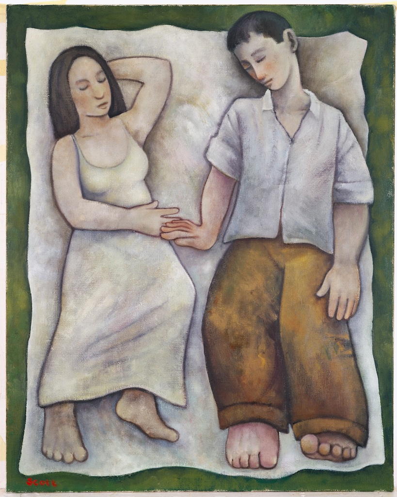 Lovers Asleep